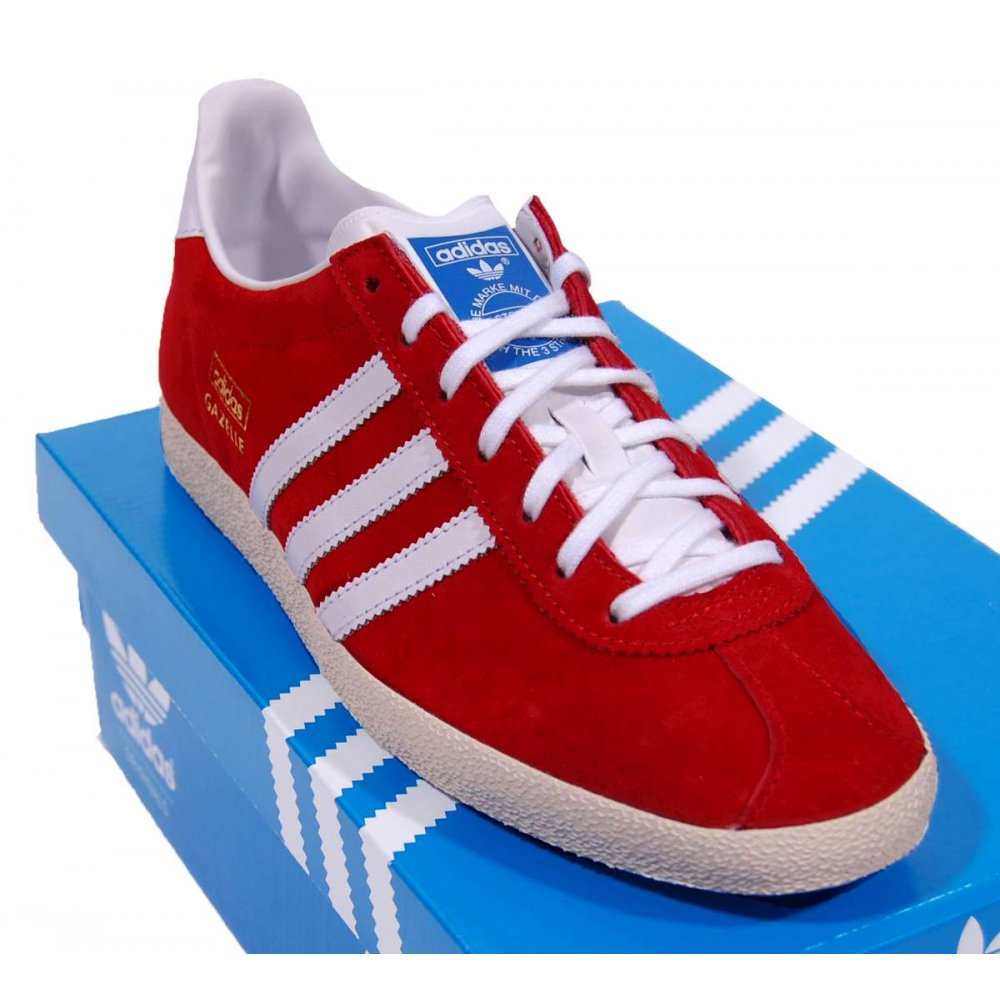 6c10b924e26e Buy cheap red and blue gazelles  Up to OFF70% Discounts