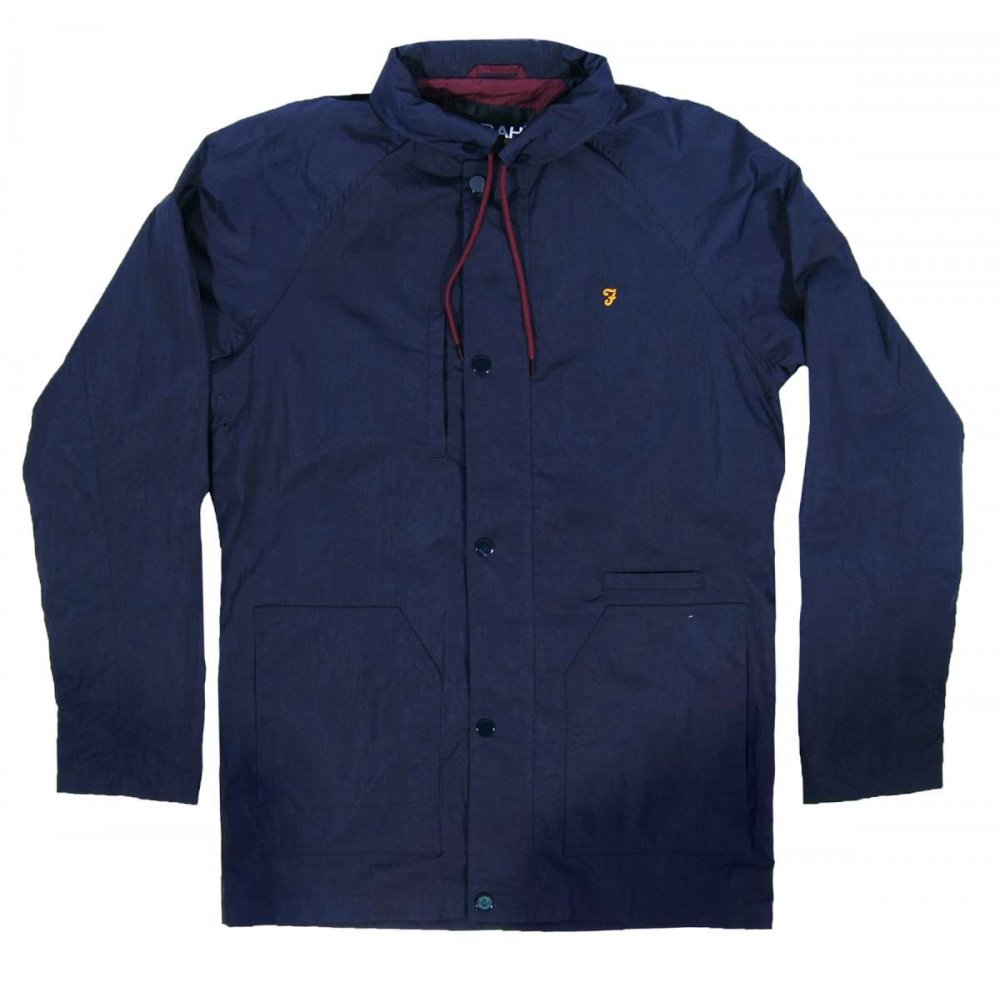 farah kendal jacket true navy mens jackets from attic