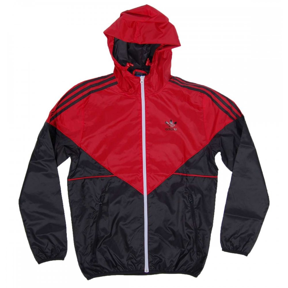 adidas originals colorado windbreaker collegiate red black. Black Bedroom Furniture Sets. Home Design Ideas