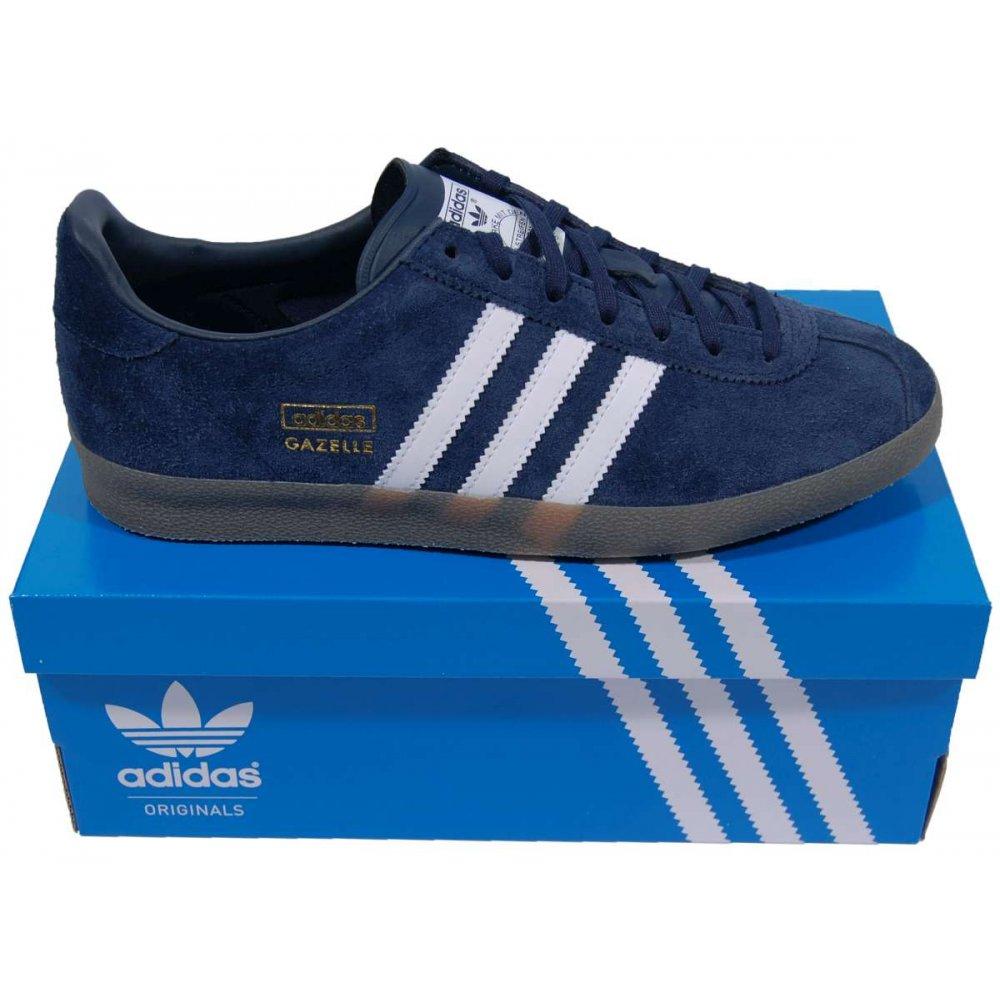 Adidas Gazelle Og Blue Black