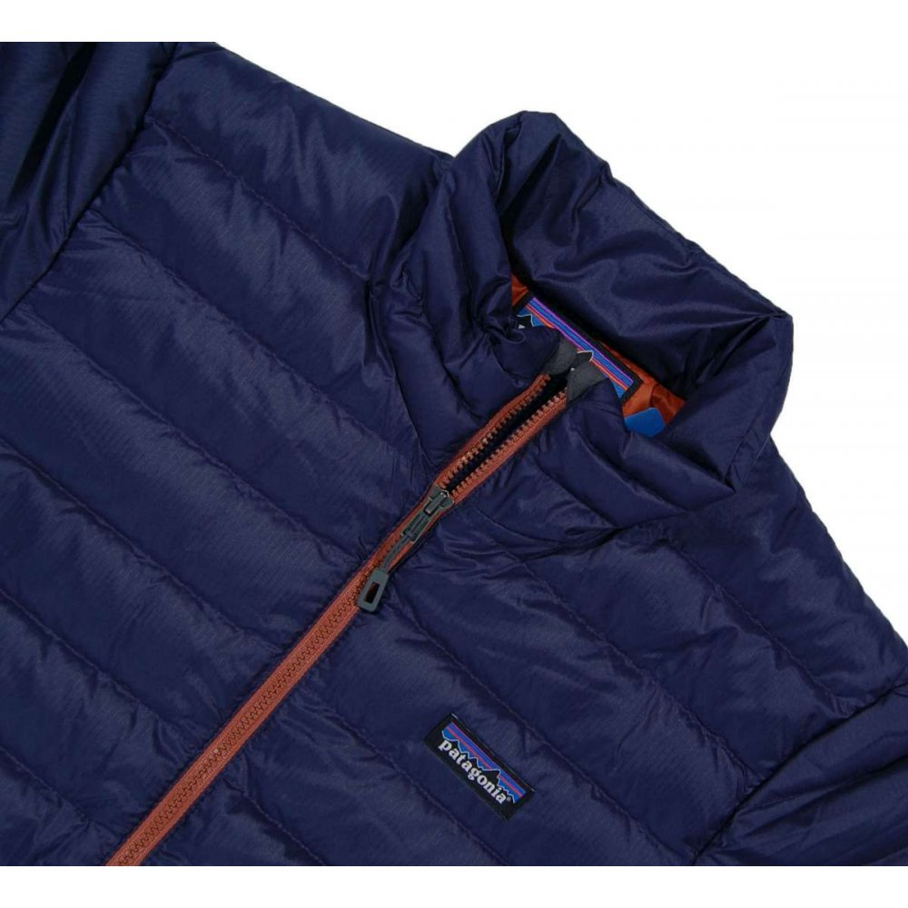 Patagonia Down Sweater Classic Navy Mens Jackets From