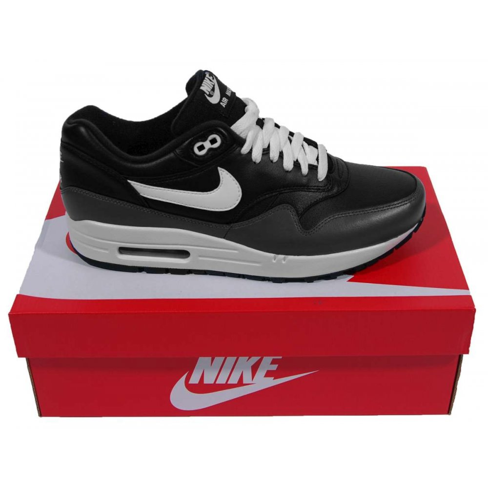 Nike Air Max 1 Mens Black White