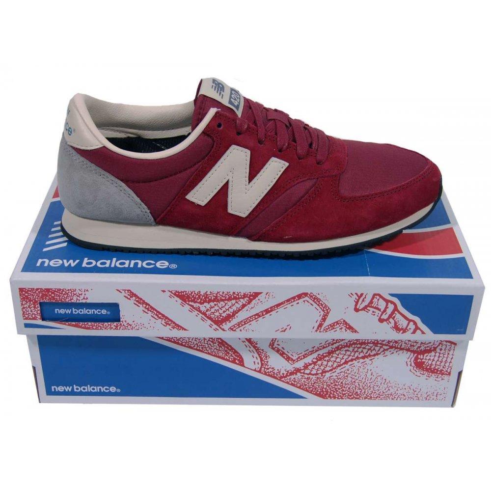new balance u 420 dark red