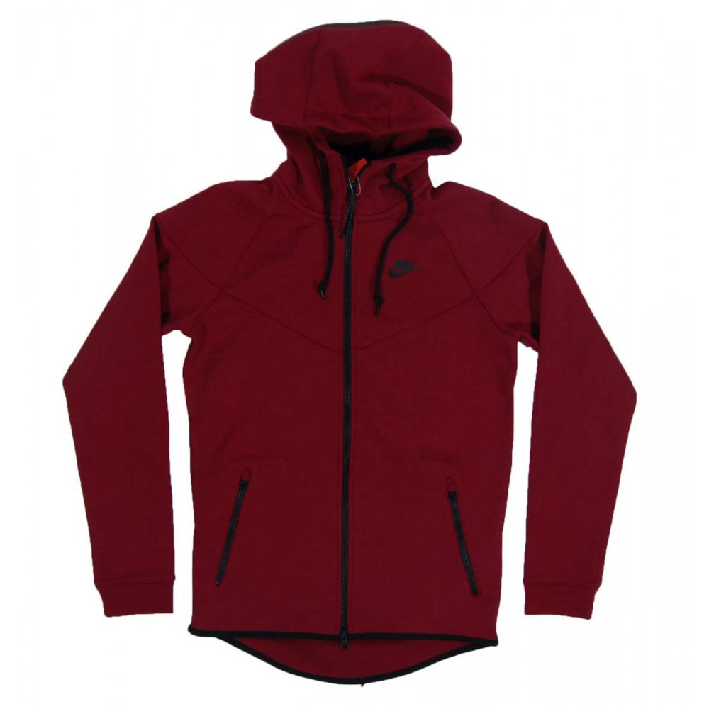 nike tech fleece windrunner 1mm medium team red heather mens sweats and tracks from attic. Black Bedroom Furniture Sets. Home Design Ideas