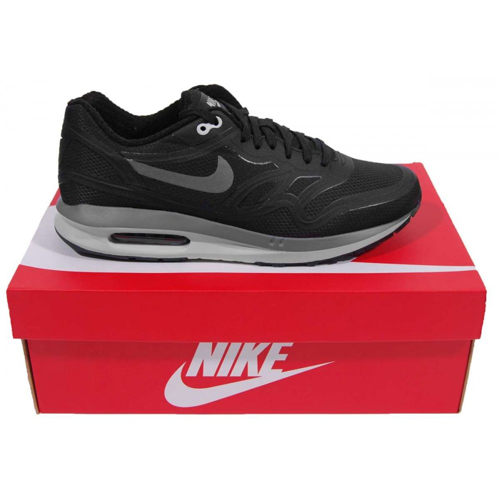 nike air max lunar 1 wr black cool grey mens shoes from. Black Bedroom Furniture Sets. Home Design Ideas