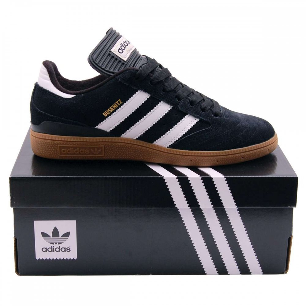 Adidas Originals Busenitz Black Running White - Mens Shoes from Attic Clothing UK