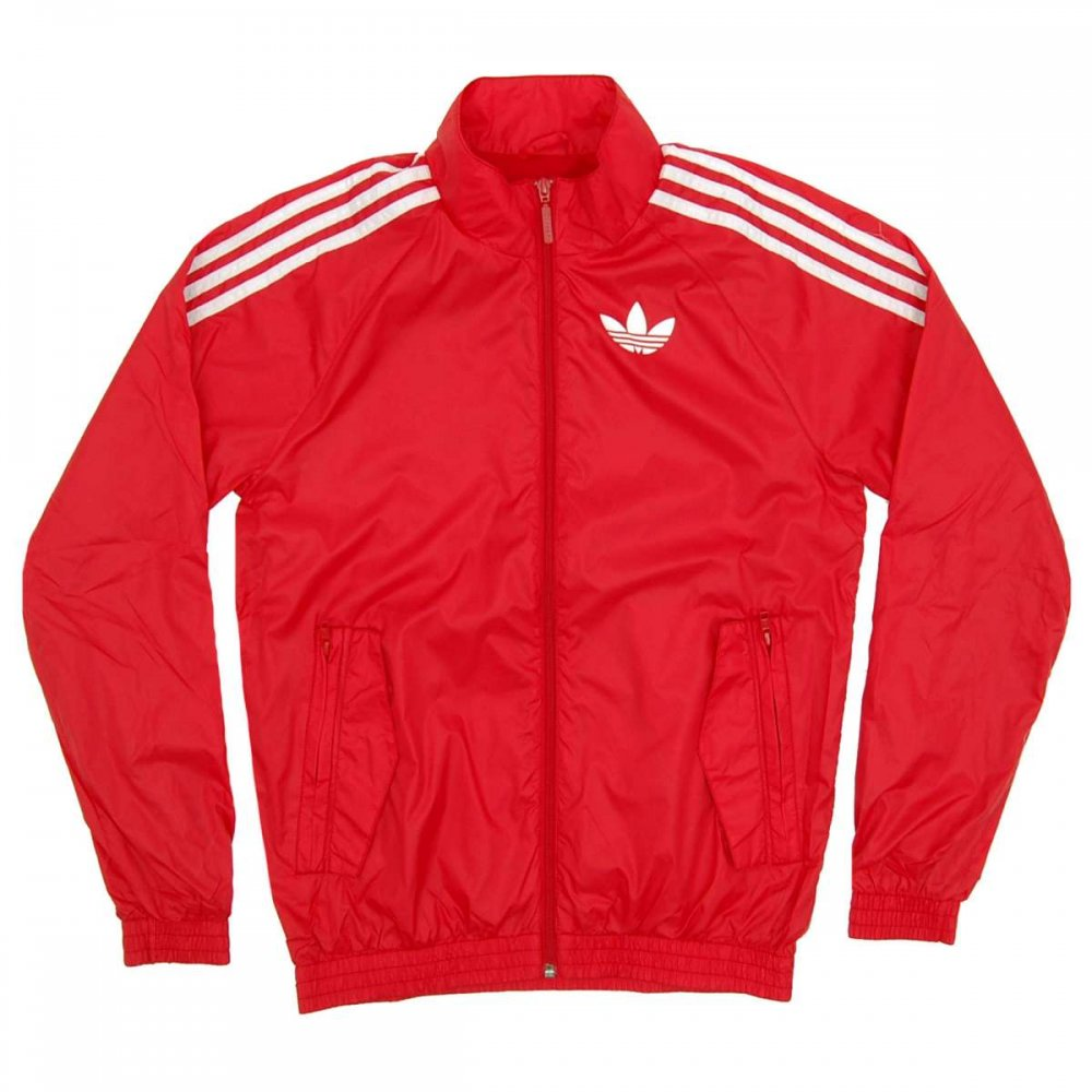 adidas originals superstar windbreaker scarlet mens. Black Bedroom Furniture Sets. Home Design Ideas