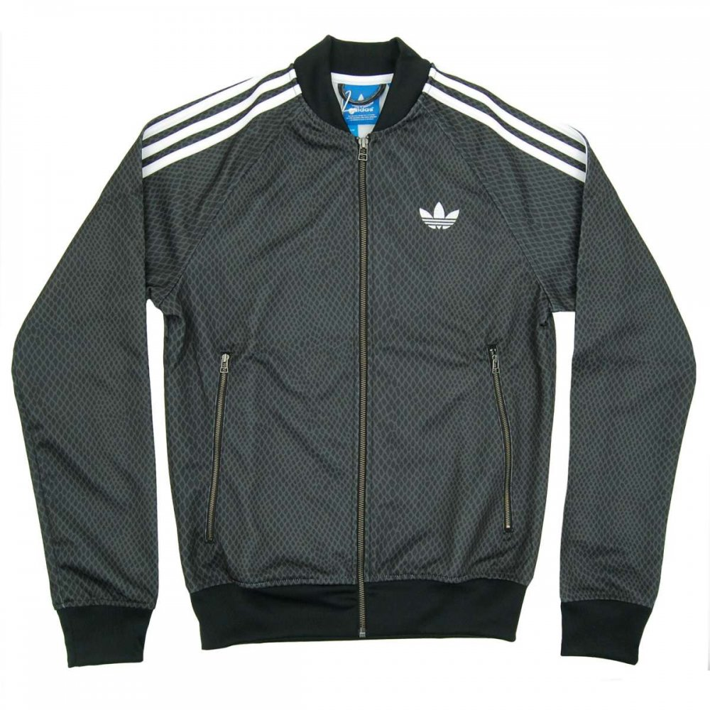 adidas originals superstar snake track jacket black mens. Black Bedroom Furniture Sets. Home Design Ideas