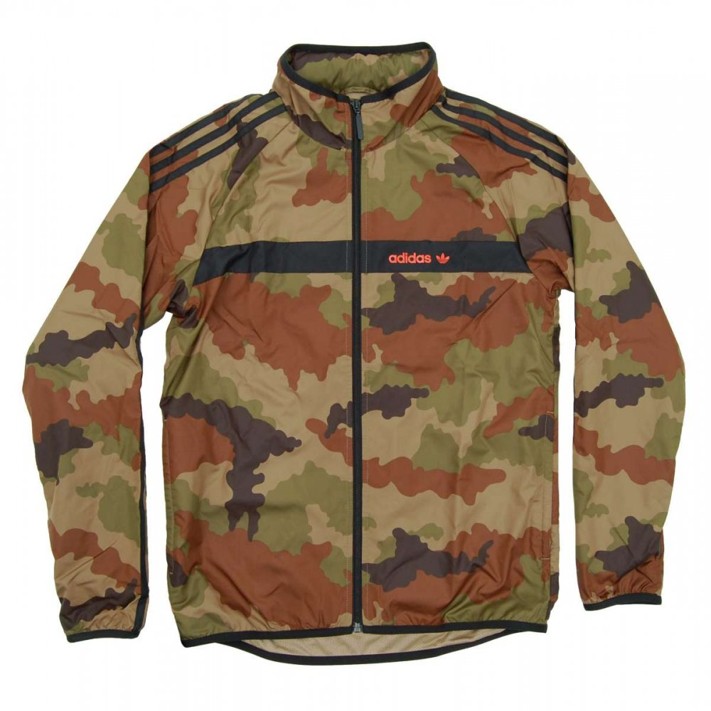 adidas originals marathon windbreaker camo hemp. Black Bedroom Furniture Sets. Home Design Ideas