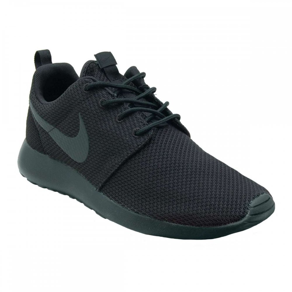 nike roshe one black black mens shoes from attic clothing uk