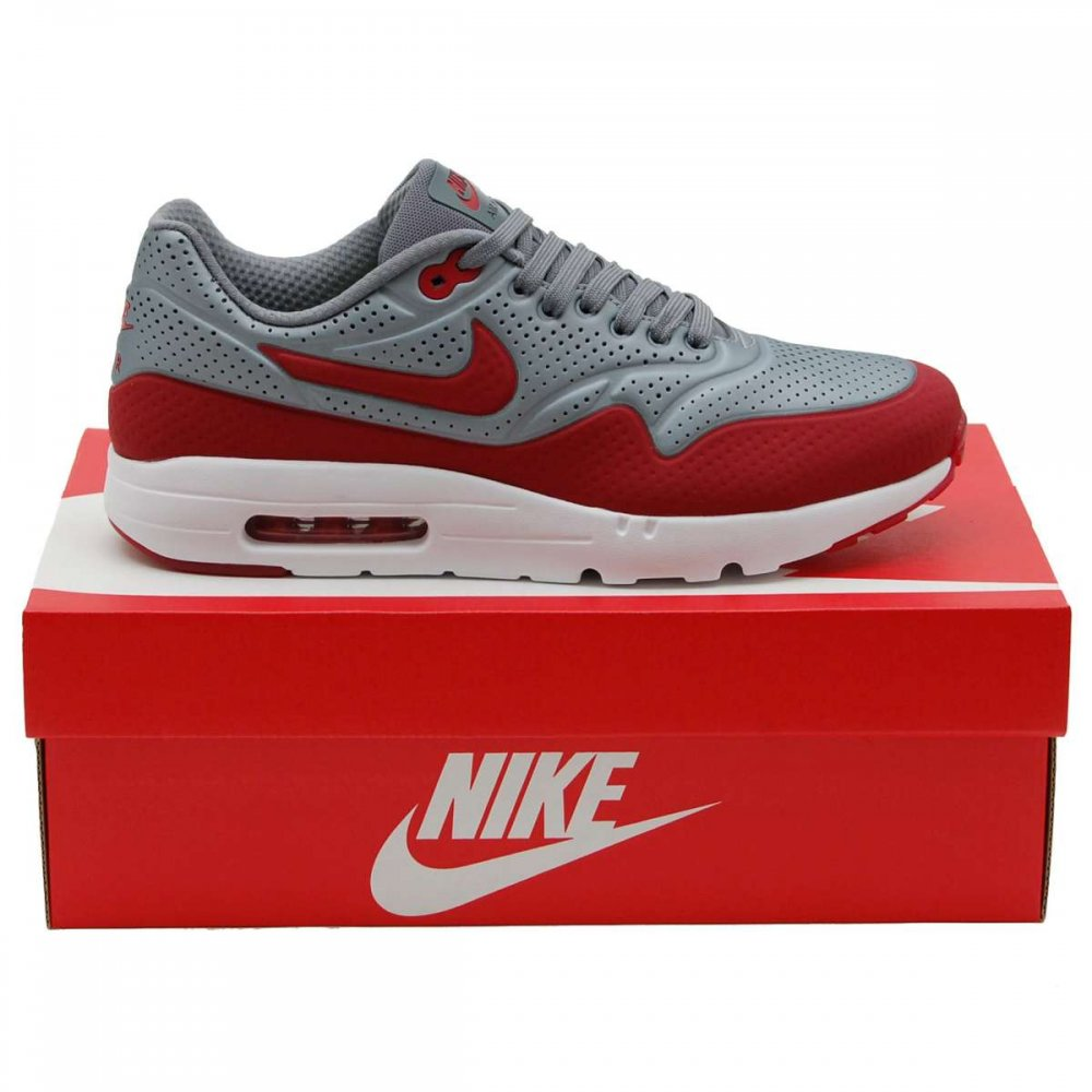 nike air max 1 ultra moire metallic cool grey gym red. Black Bedroom Furniture Sets. Home Design Ideas