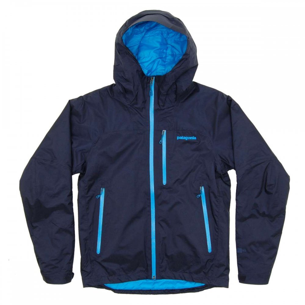 Patagonia Insulated Torrentshell Jacket Navy Blue Mens