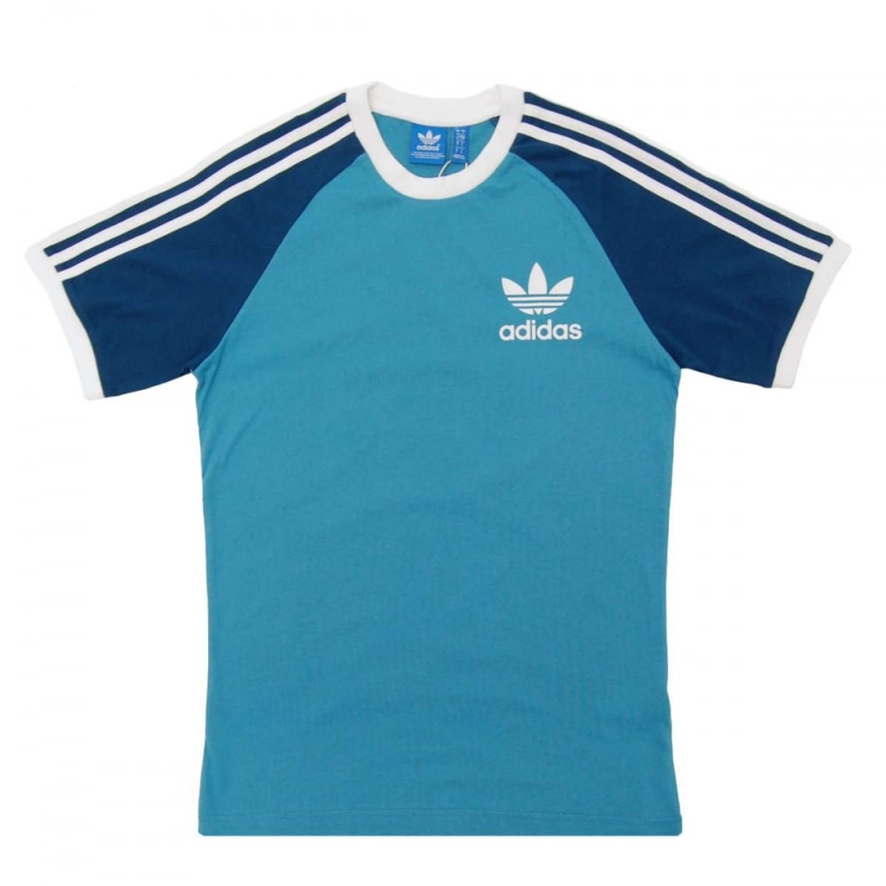 adidas originals california t shirt blanch sea mens t shirts from attic clothing uk. Black Bedroom Furniture Sets. Home Design Ideas