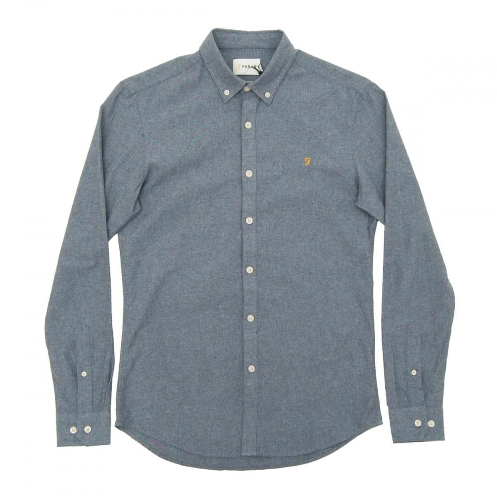 farah steen shirt bluebell mens shirts from attic