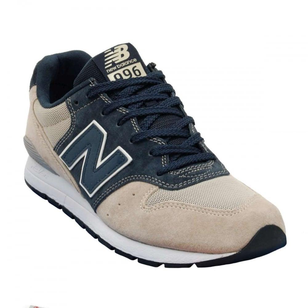 new balance revlite mrl996 ka beige navy mens shoes from attic clothing uk. Black Bedroom Furniture Sets. Home Design Ideas