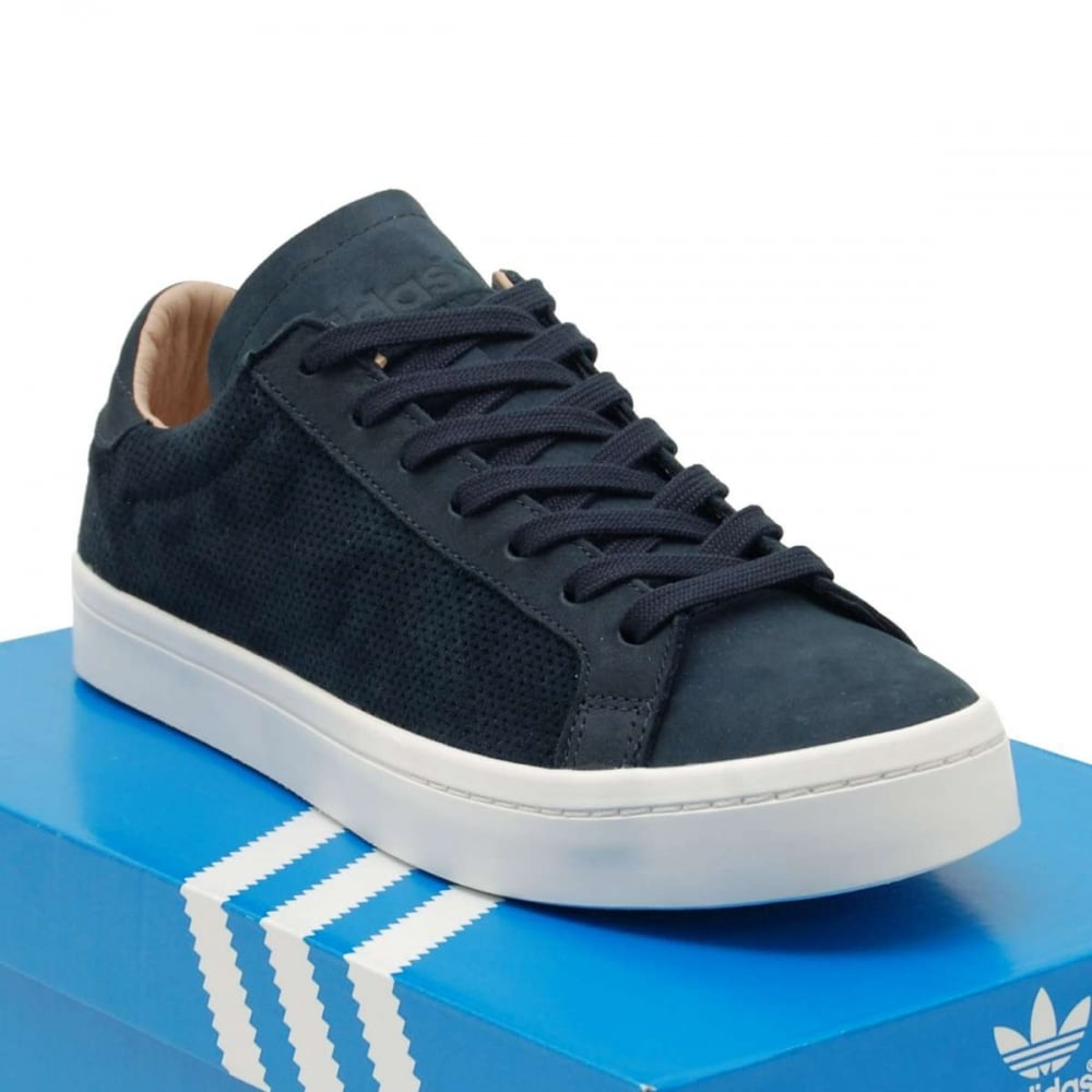 adidas originals court vantage night navy dust pearl. Black Bedroom Furniture Sets. Home Design Ideas