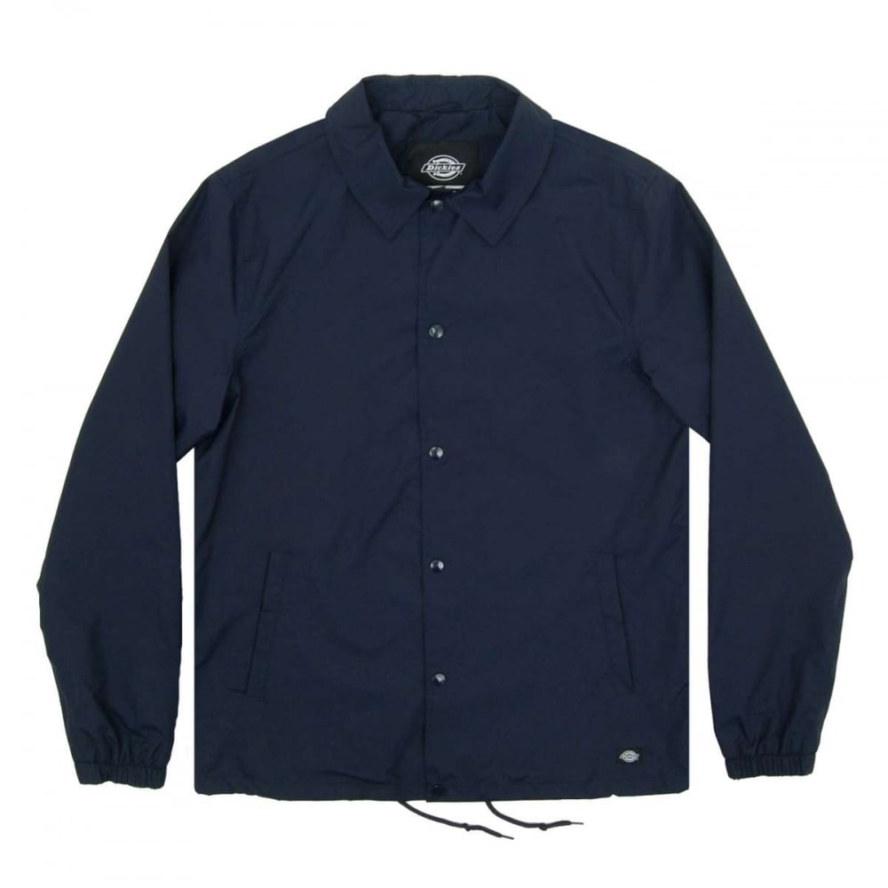 Dickies torrance coach jacket navy blue mens jackets for Coach jacket