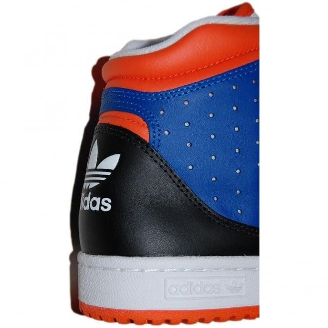 pas mal 3e8c6 816ad Adidas Originals Decade Hi B-Ball White Orange