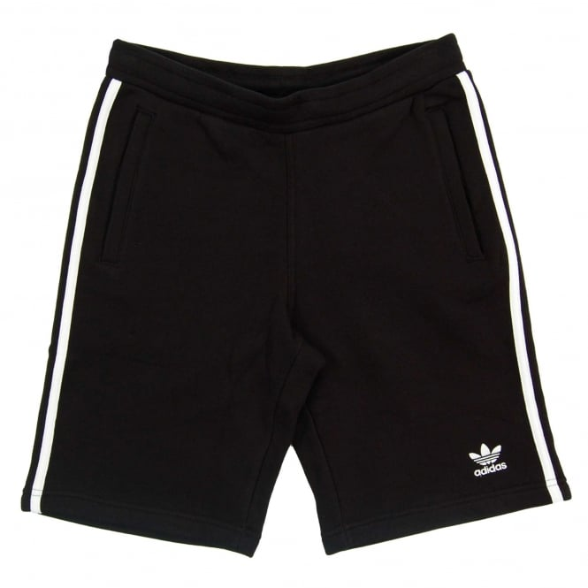 Adidas Originals 3 Stripe Short Black