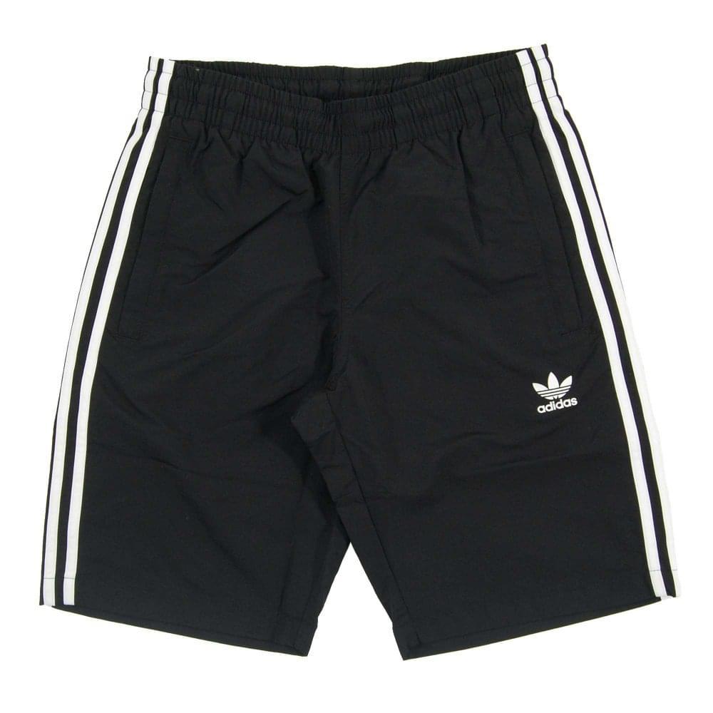 Adidas Originals 3 Stripes Swim Shorts Black