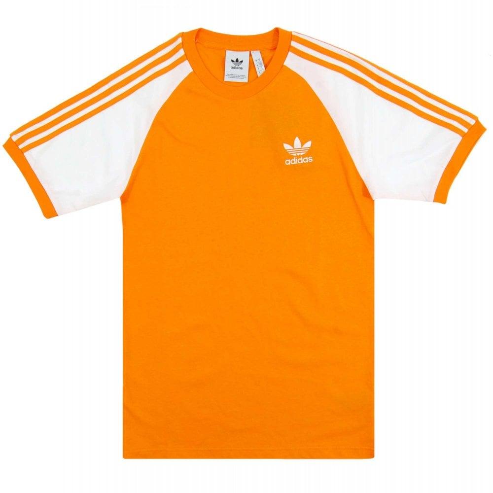 online store e0cd5 817d6 3-Stripes T-Shirt Bright Orange