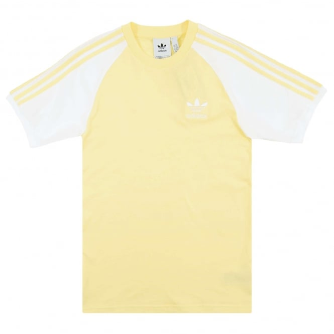 Adidas Originals 3-Stripes T-Shirt Intense Lemon