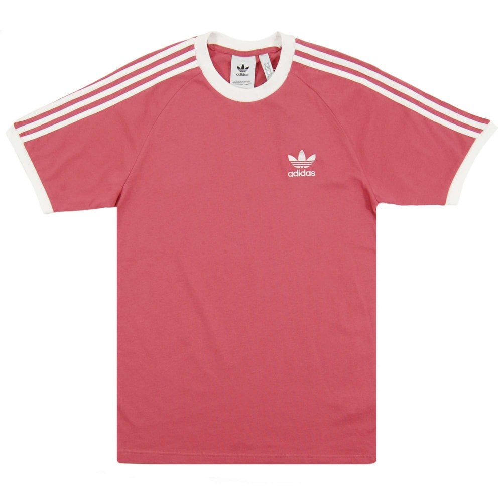 3fbbc41346 Adidas Originals 3-Stripes T-Shirt Trace Maroon - Mens Clothing from ...