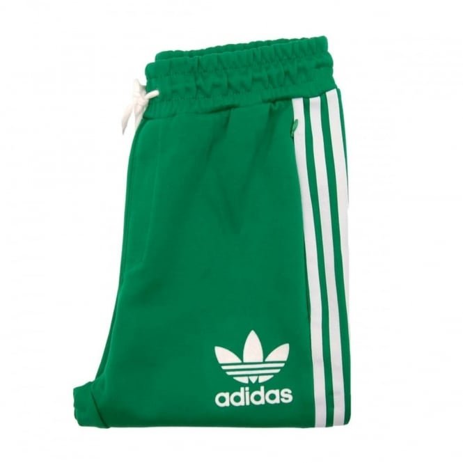 Adidas Originali 7 / 8 Adc Moda Pantaloni Verde Bianco Uomo