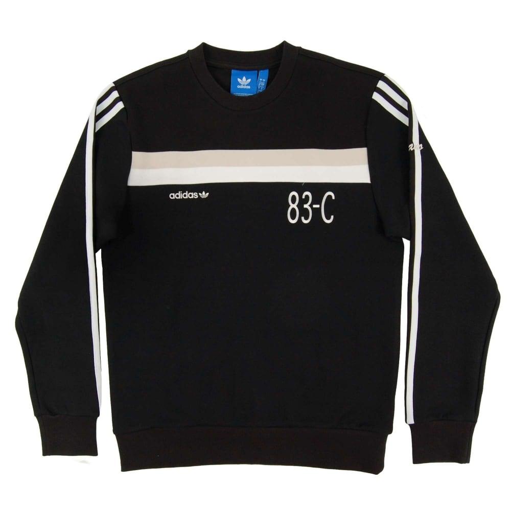 0a1829867e86 Home · Mens Clothing · Mens Sweats and Tracks  Adidas Originals 83-C  Sweatshirt Black. Tap image to zoom. 83-C Sweatshirt Black · 83-C  Sweatshirt Black