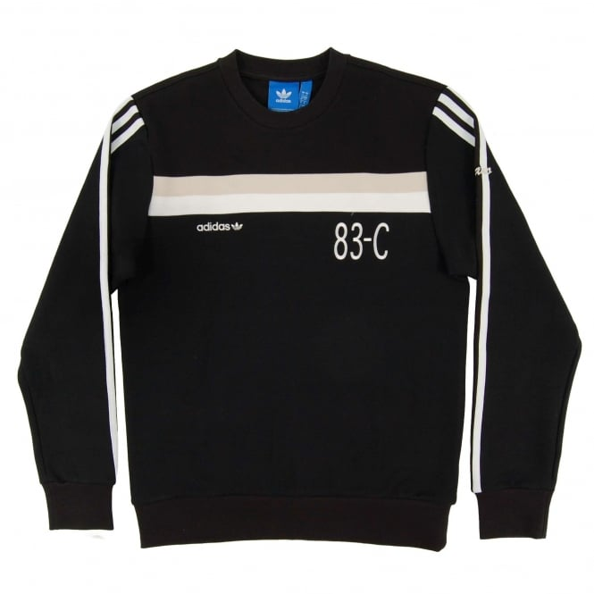 Adidas Originals 83-C Sweatshirt Black