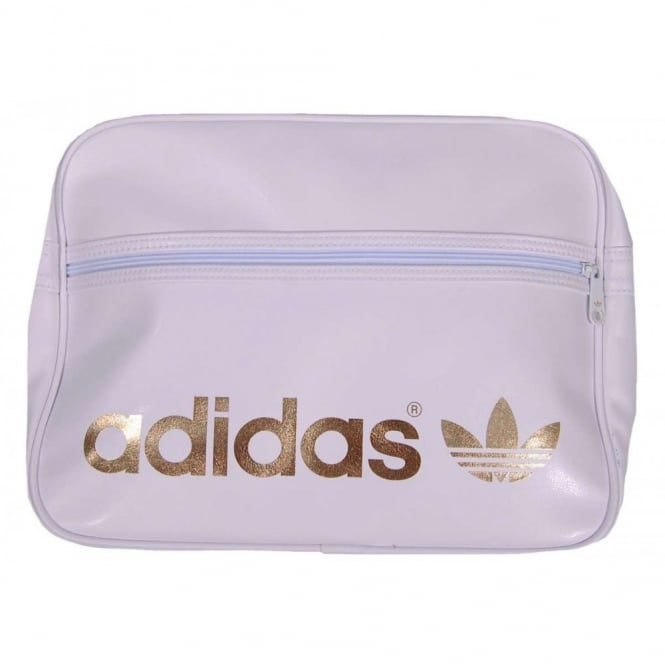 982bde8edeee Adidas Originals AC Airliner Bag White Gold - Mens Clothing from ...