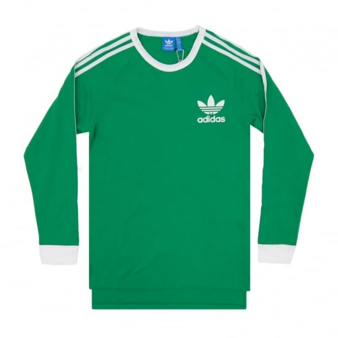 3c321663d Adidas Originals ADC Fashion LS Top Green White - Mens Clothing from ...