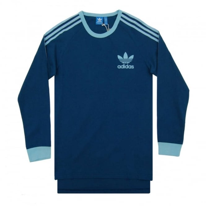 Adidas Originals ADC Fashion LS Top Shadow Blue Clear Blue