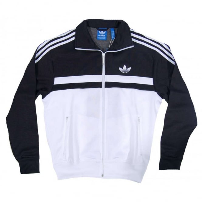 Adi Icon Track Top Black White