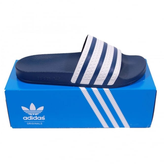 788a6db3e Adidas Originals Adilette Sandals Adi Blue - Mens Clothing from ...