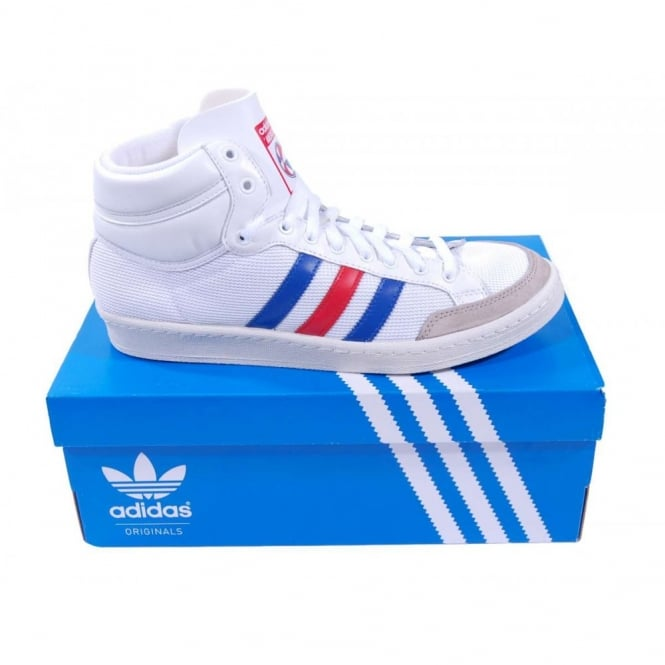 9e856ec431 Adidas Originals Americana Hi 88 Running White True Blue - Mens ...