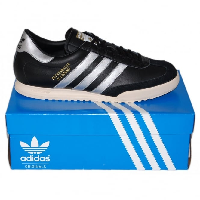 Adidas Originals Beckenbauer Black Silver - Mens Clothing from Attic ... b4f8ec0b6