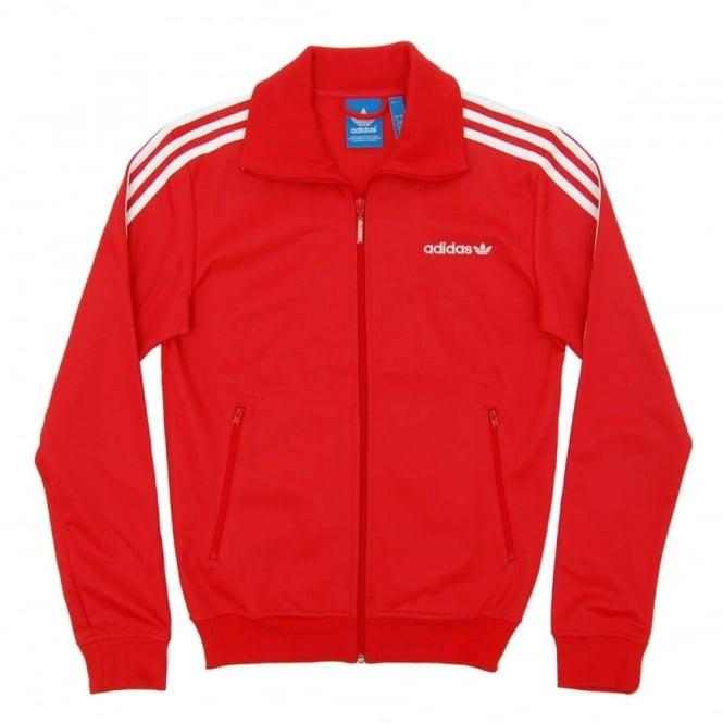 Adidas Originals Beckenbauer Track Top Red - Mens Clothing from ... d1e6597f1