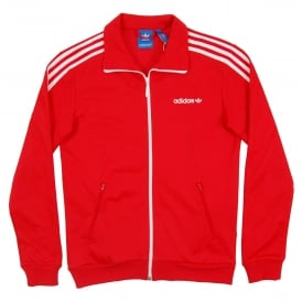 Beckenbauer Track Top Vivid Red