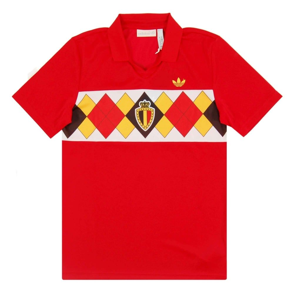reputable site 1e0d3 d0df7 Belgium 1984 Jersey Victory Red