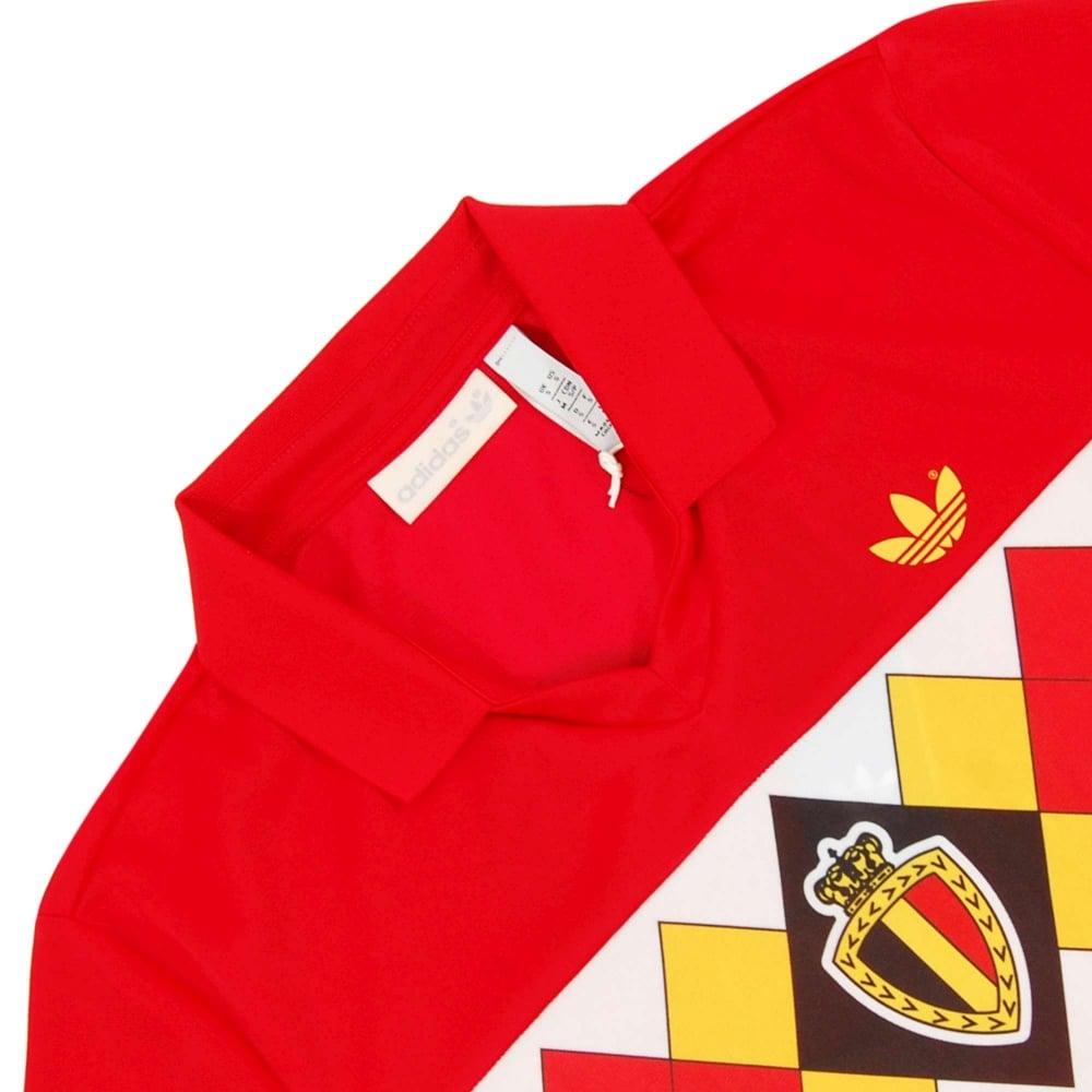hot sale best online offer discounts Adidas Originals Belgium 1984 Jersey Victory Red - Mens Clothing ...