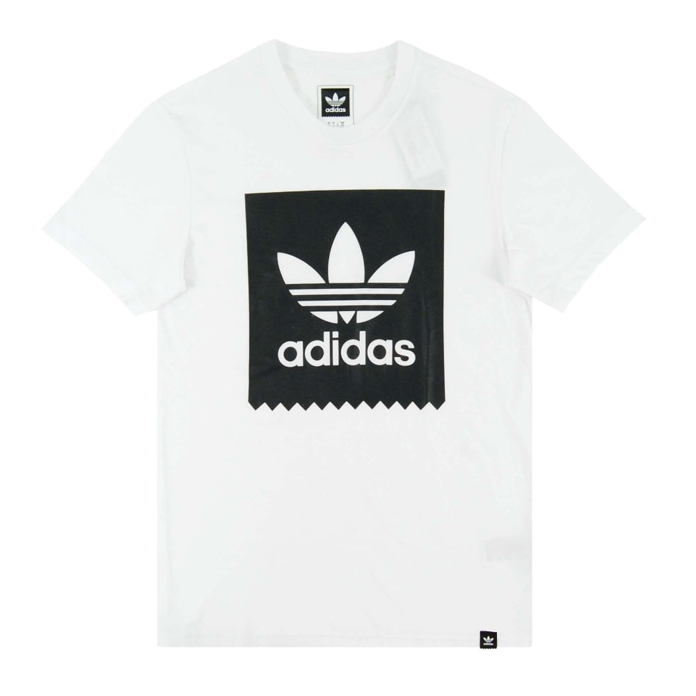 Adidas Originals Blackbird Logo Fill T Shirt White