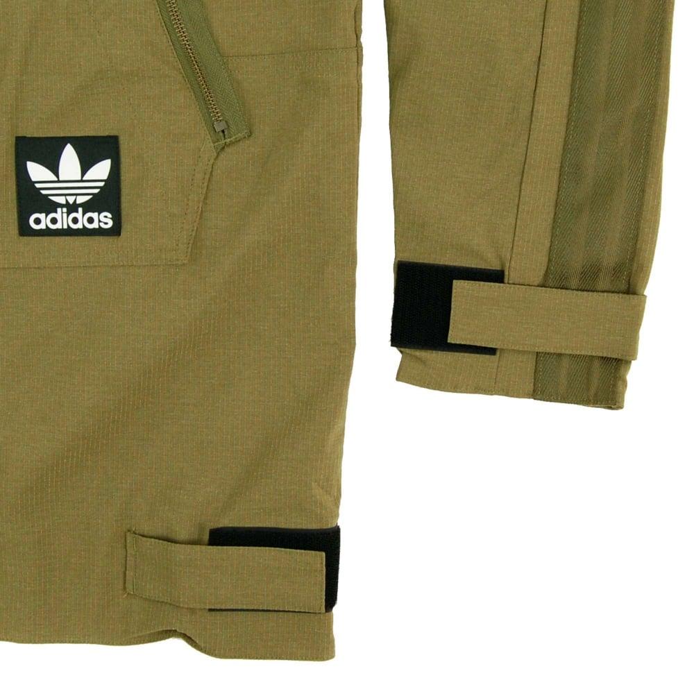 a7966ae0c0ec Adidas Originals Brand Windbreaker Jacket Olive Cargo - Mens ...
