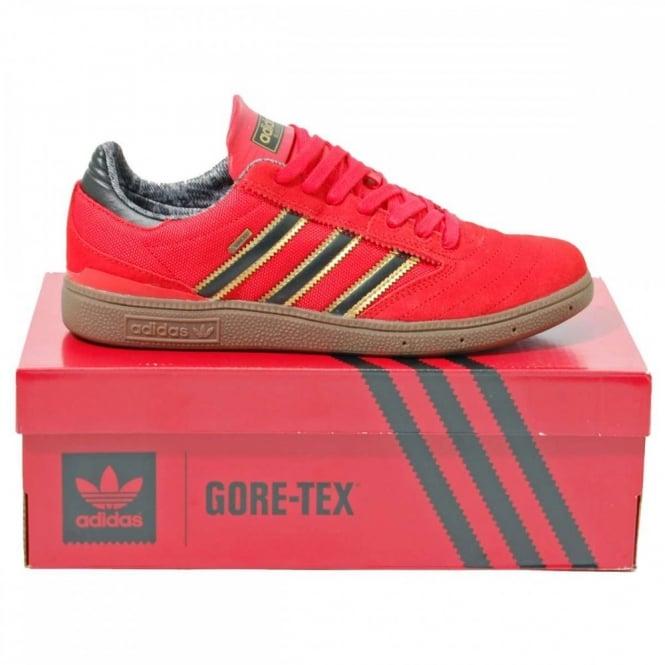 huge discount 3a0c9 ceeb5 Adidas Originals Busenitz Gore-Tex Collegiate Red Core Black - Mens  Clothing from Attic Clothing UK