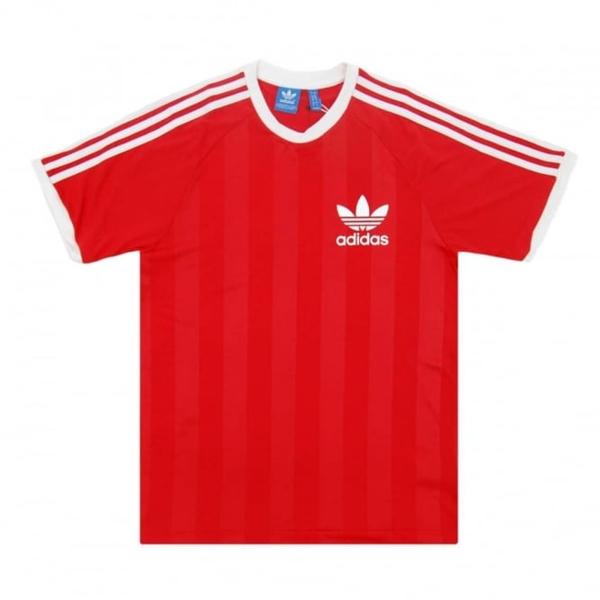Adidas California Lush Shirt Football Red Originals T rqRgrC