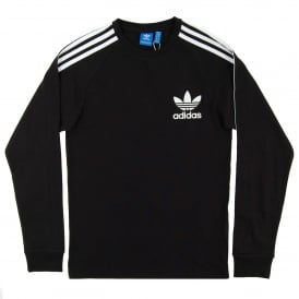California LS Top Black White