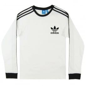 California LS Top White Black