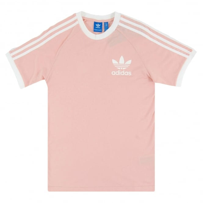adidas originals california t shirt vapour pink mens. Black Bedroom Furniture Sets. Home Design Ideas