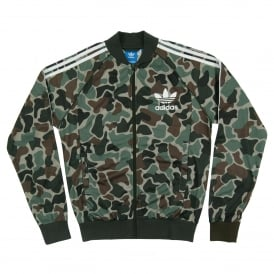 Camo Superstar Track Top Multicolor