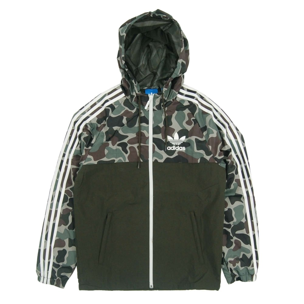 adidas originals camouflage reverse windbreaker multicolor. Black Bedroom Furniture Sets. Home Design Ideas